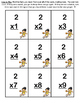 March Madness Multiplication - Bump and Concentration Games