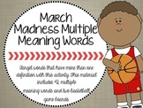 Basketball Multiple Meaning Words