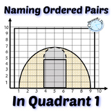 Naming Ordered Pairs in Quadrant 1 March Madness Activity
