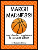 March Madness! Nonfiction Text Supplement & Research Project