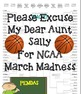 March Madness Order of Operations
