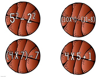 March Madness Order of Operations Sort