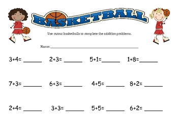 March Madness Ordering Numbers Math Centers