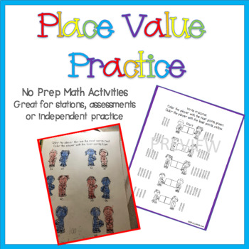 March Madness Place Value Activities