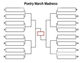 March Madness Poetry Bracket