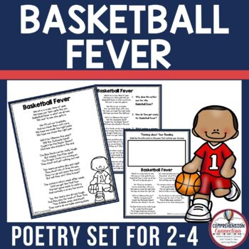 Let's celebrate March Madness with this fun poetry freebie. It includes printables you can use all week long to practice comprehension, word working skills, and fluency.