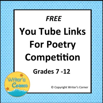 Sixteen Day Poetry Competition Youtube Links