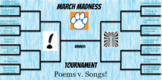 March Madness: Poetry v. Music 2021 Edition