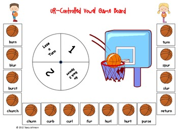 March Madness R-Controlled Vowel Games