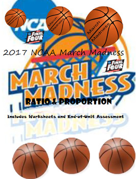 March Madness Ratio and Proportion Unit Plan