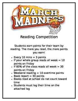 March Madness Reading Challenge