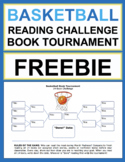 Basketball Reading Challenge Freebie