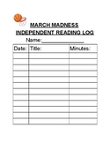 March Madness Reading Log