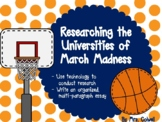March Madness: College Research Using the Brackets