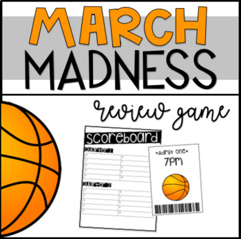 March Madness | Review Game | Review ANY Content