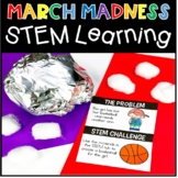 March Madness STEM Activities Basketball Engineering
