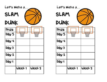 March Madness Score Sheet (TEST PREP)