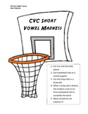 March Madness Short Vowel (CVC) Phonics