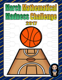 March Madness Tournament Brackets and Point Chart (2017)
