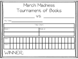 March Madness Tournament of Books Graph