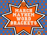 March Mayhem Word Brackets: A Head-to-Head Speech Sound Competition!