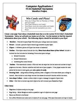 March Madness Word Processing Project