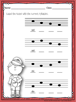 March Madness--Worksheet pack for practicing rhythm & melodic notation