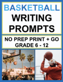 March Madness Writing Prompts: 30 Persuasive, Expository & Narrative Prompts