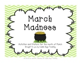 March Madness - Writing Prompts and Math Activities