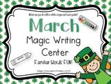 March Magic Writing Activity