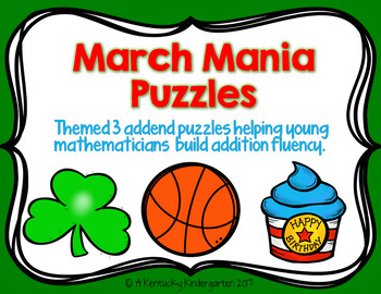 March Mania Math Puzzles