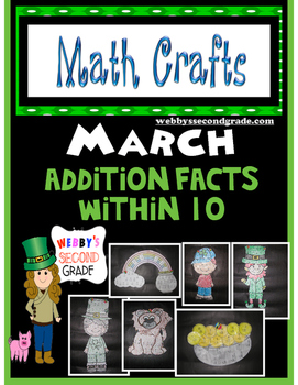 March Math CRAFTS Addition Facts within 10