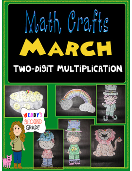 March Math CRAFTS Two Digit Multiplication