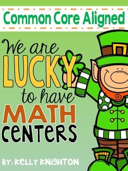 March Math Centers {First Grade}
