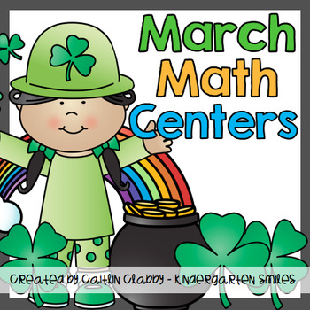 March Math Centers