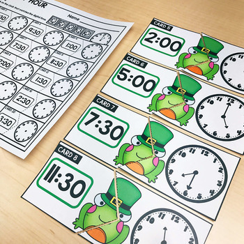 March Math Centers & Activities for 1st Grade