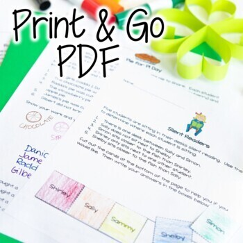 St. Patrick's Day Math Activities | Math Worksheets March | Math Challenges