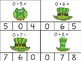 March Math Fact Clip Cards: Addition and Subtraction to 10