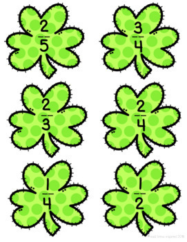 Fractions: St. Patrick's Day