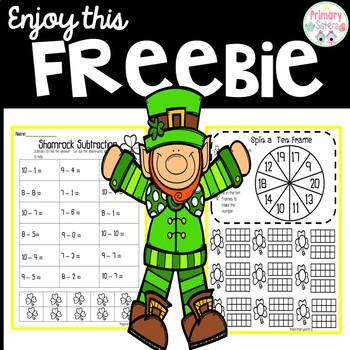 March Math Freebie