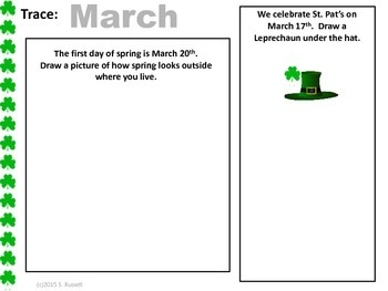 March Math Fun Printables and Activities for K5-1st Grade