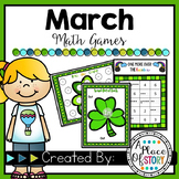 March Math Games-Kindergarten
