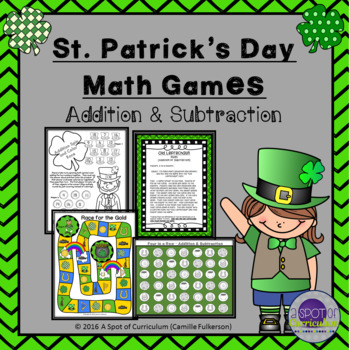 St. Patrick's Day Math: Addition and Subtraction
