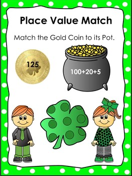 March Math Games Place Value Review