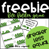 Counting to Compare Numbers: FREEBIE