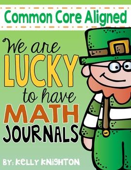 March Math Interactive Journal {First Grade}