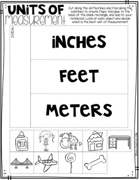 March Math Interactive Journal {Second Grade}