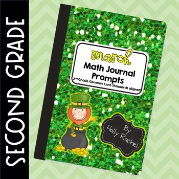 March Math Journal Prompts Second Grade