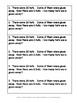 March Math Journal Word Problems for 1st Grade