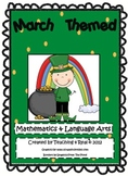 March Math & Literacy Activity BUNDLE